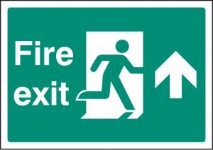 Fire exit up - A4 rp