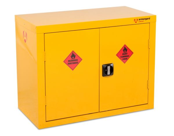 Double Flammable Storage Cabinet 700mm x 900mm x 460mm