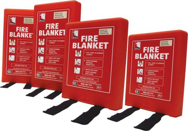 Fire Blankets & Welding Drapes | Fire Safety | Bull Products