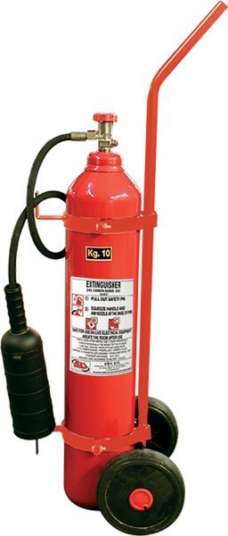 50Kg Wheeled CO2 Fire Extinguisher