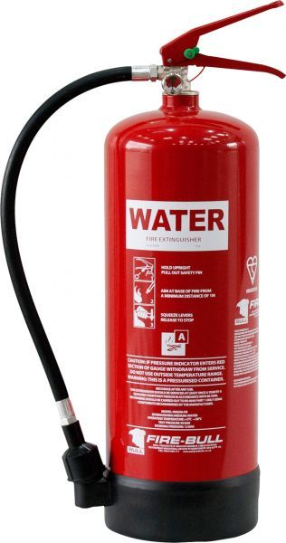 6 Litre Water Fire Extinguisher - Bull Products