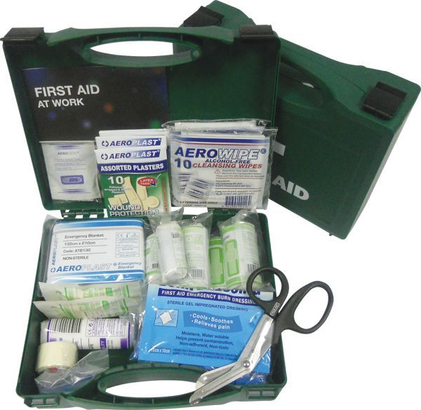 AeroKit BS 8599 Economy Workplace Catering Small First Aid Kit