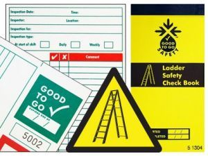 Good to go safety ladders check book