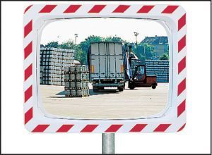 Traffic mirror 1000x800mm