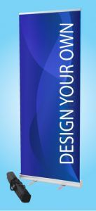 Roller Banner Your message here 2000x800mm