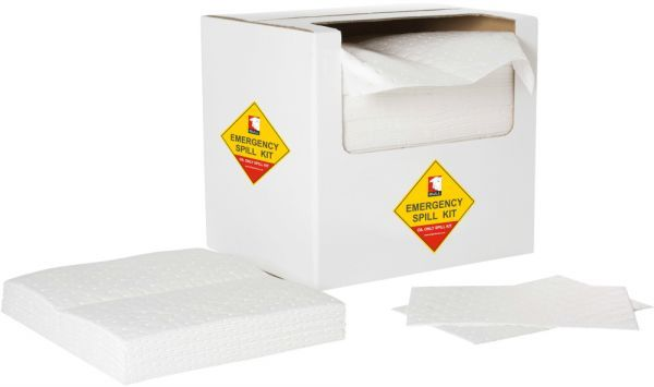 Oil Absorbent Dimpled Pads 40cm x 50cm x 1.5mm