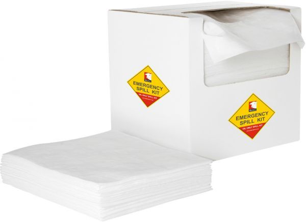 Oil Absorbent Pads 40cm x 50cm x 4mm