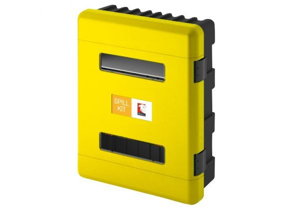 Yellow Double Spill Control Cabinet