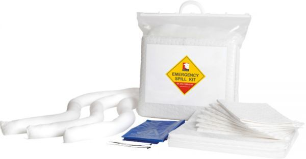 15 Litre Oil Spill Kit Bag