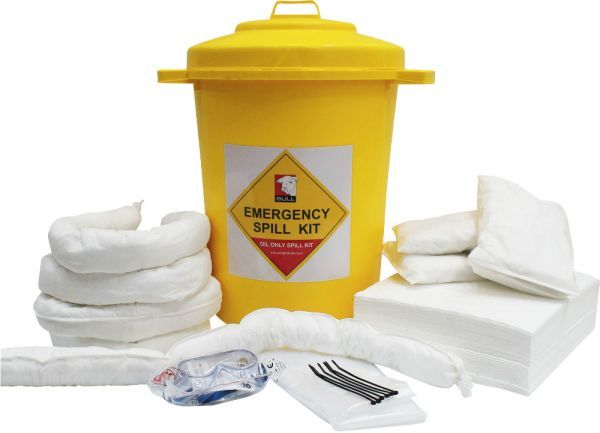 90 Litre Oil Spill Kit Static Bin