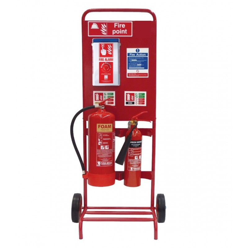 Double Contractor Fire Trolley Package Deal, Customisable