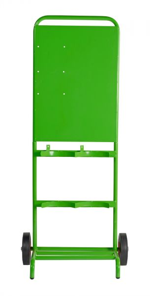 Green Double Contractor Trolley