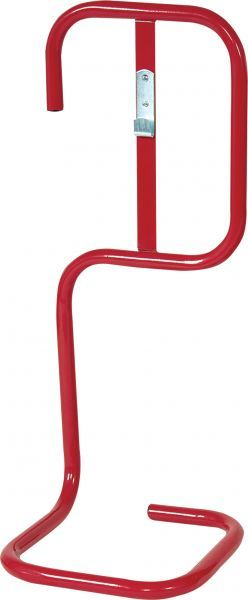 Single Fire Extinguisher Stand Red | Fire Safety Equipment