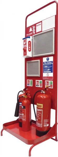 Static Fire Point Stand | Fire Trolleys & Stands