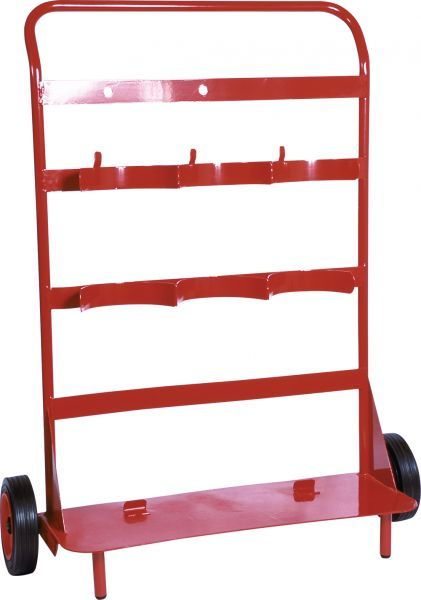 Triple Fire Extinguisher Trolley | Trolleys & Stands