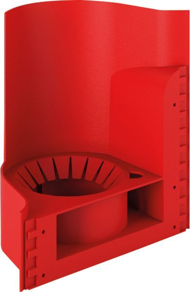 Wave Wall Mounted Fire Extinguisher Stand | Fire Safety