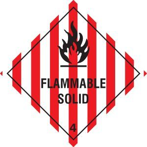 Flammable solid